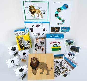 Montessori Lesson Plan: Africa Kit